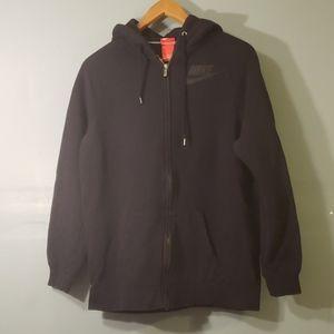 nike hoodie black SZ small